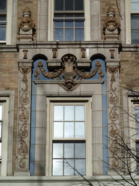 Terracotta tiles New York City's 24 Fifth Avenue
