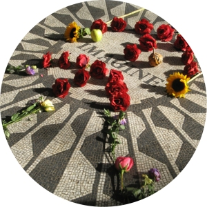 Central Park, John Lennon, Walking Tour, Walk Abut New York, Imagine, Mosaic, Strawberry Fields
