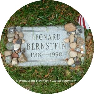 Gay Graves Tour, Green-Wood Cemetery, Brooklyn, Walk About New York, Lenoard Bernstein, Battle Hill