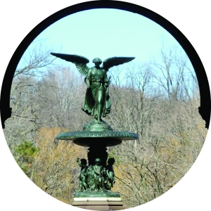 Central Park, Bethesda Fountain, Bethesda Terrace, Angel of the Waters, Emma Stabbins, Walk About New York, Central Park Walking Tour