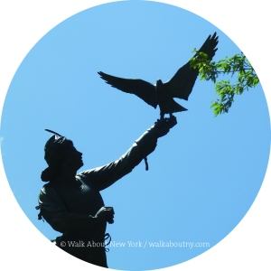 Central Park Walking Tour, Central Park, The Falconer, New York,