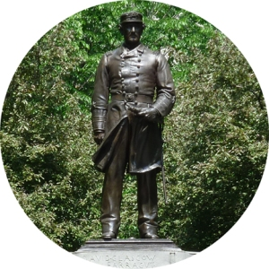 Five Squares and a Circle Tour, Admiral Farragut, Madison Square Park, Augustus St. Gaudins, Bronze, Stanford White