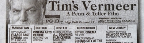 Vermeer Tim Dutch Art New York Times ad