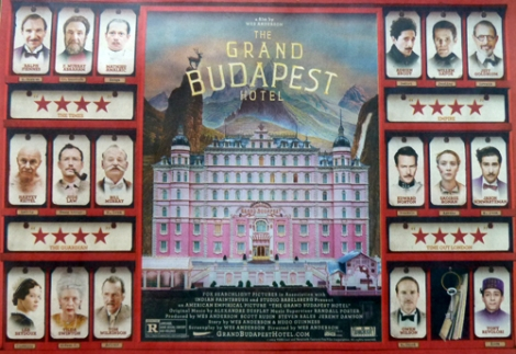 Wes Anderson's The Grand Budpest Hotel