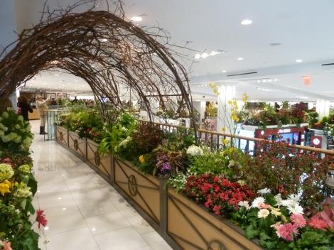 Macy's Flower Show, arbor, Secret Garden