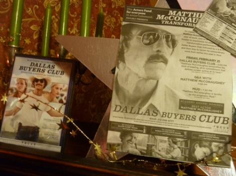 Dallas Buyer's Club Matthew McConaughey Oscar-winning role