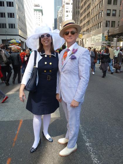 Easter Parade, Easter bonnet, New York, Fifth Avenue, boater, Seersucker