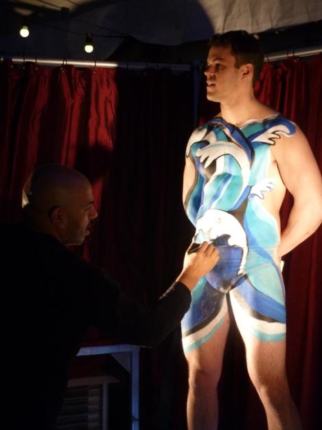 Cirque du Soleil, body painting, Amaluna