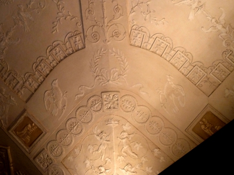 stucco, ceiling, Rizzoli, New York