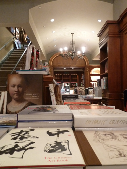 Art, books, Rizzoli's