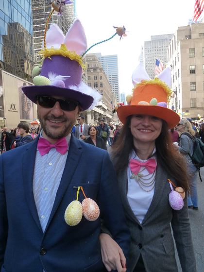Easter Parade, Easter bonnet, New York, Fifth Avenue, top hats