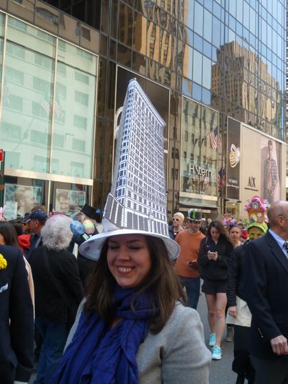 Easter Parade, Easter bonnet, New York, Fifth Avenue, Flatiron building, hat