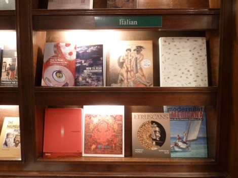 Book, Italian, publishers, sale, Rizzoli's