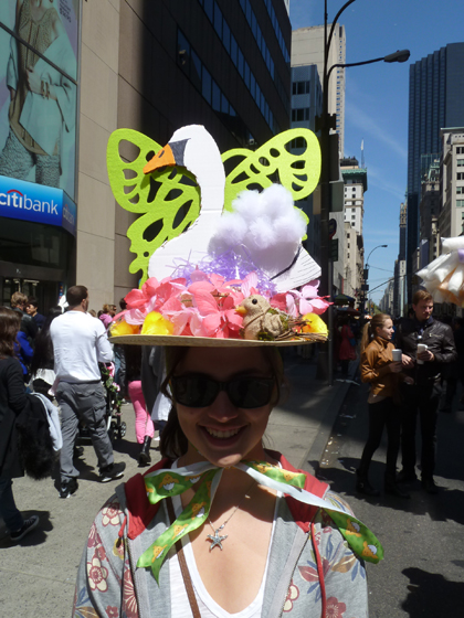 Easter Parade, Easter bonnet, New York, Fifth Avenue, butterfly hat