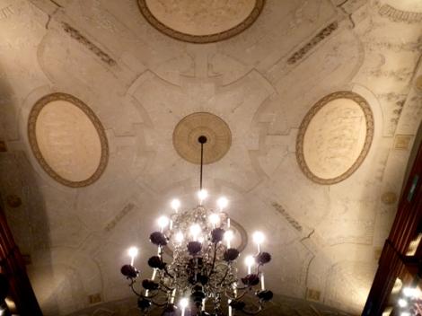 fabulous ,stucco, ceiling, Rizzoli's