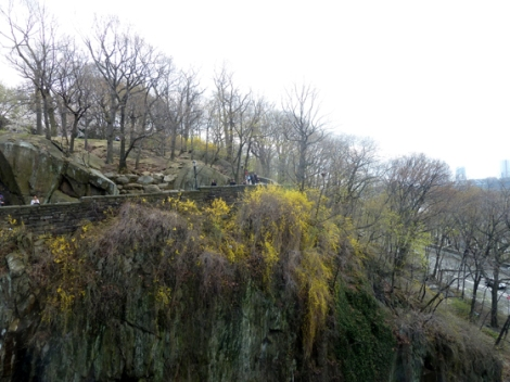 Fort Tryon Park, Hudson River, Manhattan, Schist