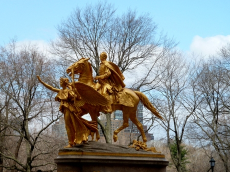 General Sherman, Augustus Saint-Gaudens, Grand Army Plaza, NYC