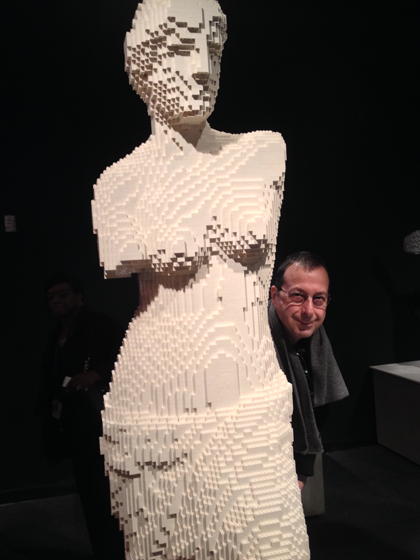 Lego, Nathan Sawaya, Discovery Center, Times Square, Venus de Milo