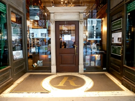 Rizzoli, Door, West 57th Street