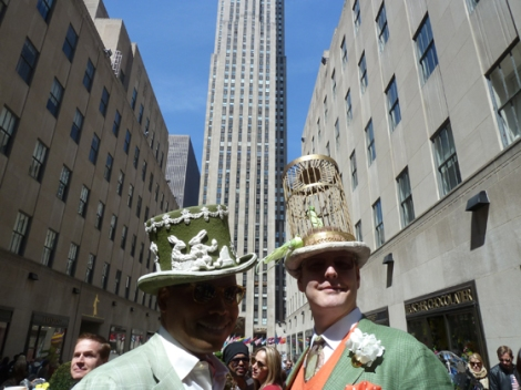 Easter Parade, Easter bonnet, New York, Fifth Avenue, Rockefeller Center, 30 Rock, top hat
