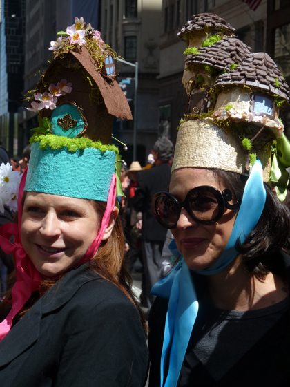 Easter Parade, Easter bonnet, New York, Fifth Avenue, gnome houses, fairy houses