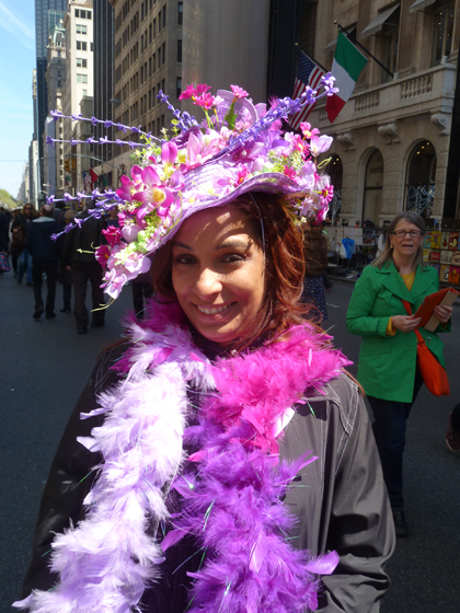 Easter Parade, Easter bonnet, New York, Fifth Avenue, feathers, flowers