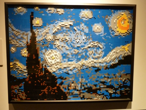 Lego, Nathan Sawaya, Discovery Center, Times Square