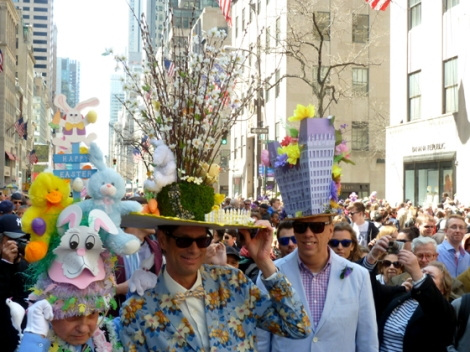Easter Parade, Easter bonnet, New York, Fifth Avenue, towers, gay men