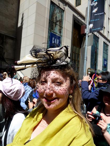 Easter Parade, Easter bonnet, New York, Fifth Avenue, veil