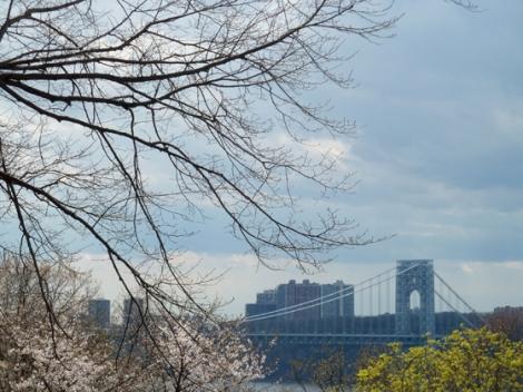Fort Tryon Park, Hudson River, Manhattan, George Washington Bridge