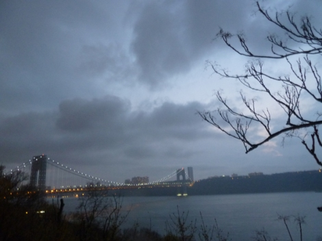 Fort Tryon Park, Hudson River, Manhattan, George Washington Bridge