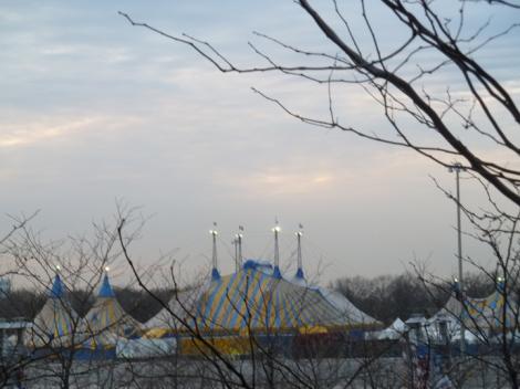 Cirque du Soleil, circus tents, Amaluna
