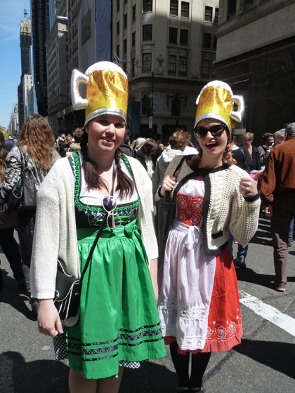 Easter Parade, Easter bunny, New York, Fifth Avenue, Oktoberfest, girls, beer