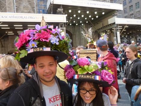 Easter Parade, Easter bonnet, New York, Fifth Avenue, France, USA, Arc de Triomphe