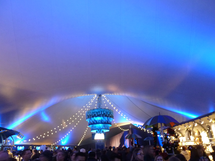 Cirque du Soleil circus tents Amaluna & An Adult Circus Comes to Town | walkaboutny