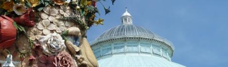 New York Botanical Garden, Enid A. Haupt Conservatory, Philip Haas, Giuseppe Arcimboldo, dome
