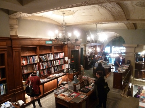 second floor, Rizzoli's, books, staircase, third floor