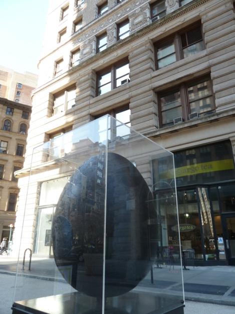 Fabergé egg hunt, black, Flatiron building, April, Easter egg