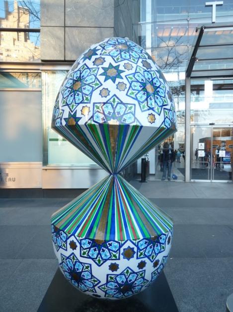 Fabergé egg hunt, Jewish, Star of David, April, Easter egg, Time Warner, Columbus Circle
