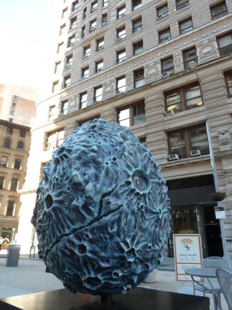 Fabergé egg hunt, reptile, gray, Flatiron building, April, Easter egg