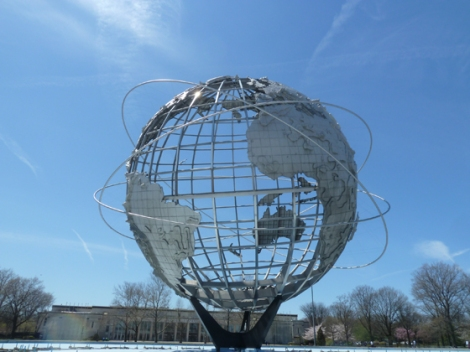 Flushing Meadows Corona Park, World's Fair, 1964, 1939, Unisphere