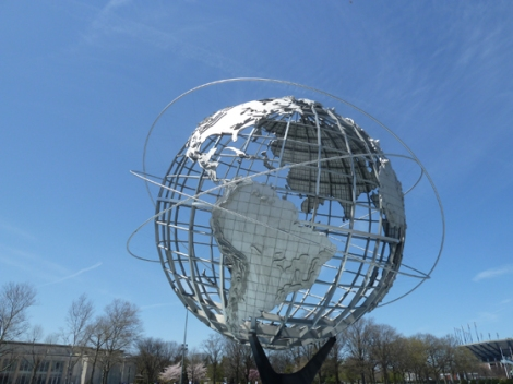 The New World side of the Unisphere.
