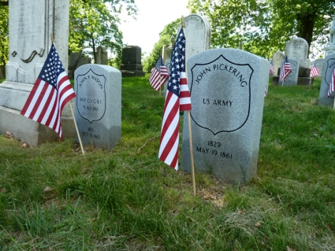 Memorial Day, Green-Wood Cemetery, Brooklyn, Civil War, Poetry