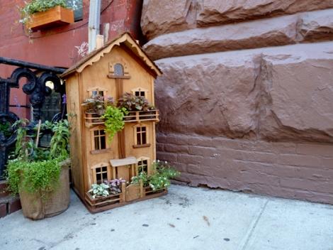 Gardening, Dollhouse, Plants, Greenwich Village, West 10th Street, New York City, Walking Tour