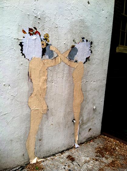 Ephemeral, flowers, love, Greenwich Village, Commerce Street, art, watering can, serendipity