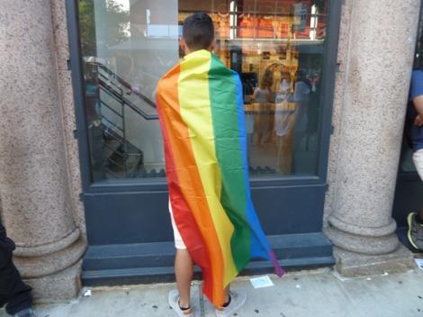 Gay Pride, New York City, Fifth Avenue Parade, Rainbow Gay Flag, Gay Pride Parade