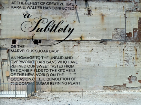 Sugar, Brooklyn, Domino Sugar, Kara Walker, Metropolitan Museum of Art, Williamsburg, Havemeyer Collection, Art, Public Art