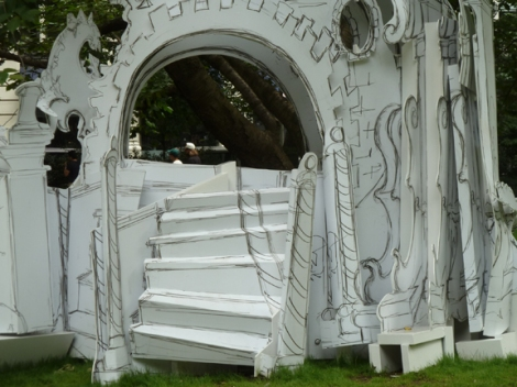 Madison Square Park Conservancy, Mad. Sq. Art, Rachel Feinstein, Folly, Shake Shack, New York City, New York