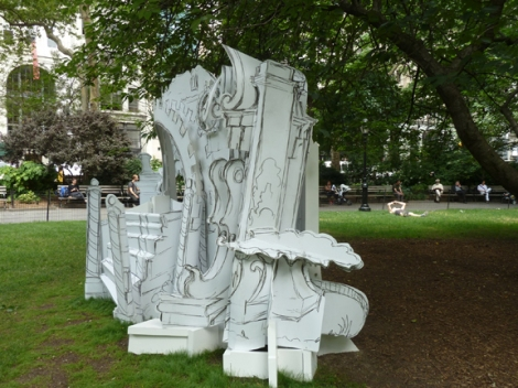 Madison Square Park Conservancy, Mad. Sq. Art, Rachel Feinstein, Folly, Shake Shack, New York City, New York