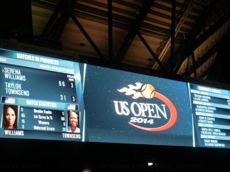 Serena Williams is the U.S. Open defending champion.